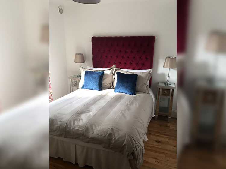 Boyne View Bed and Breakfast Trim Meath cottage bedroom 2 view to window