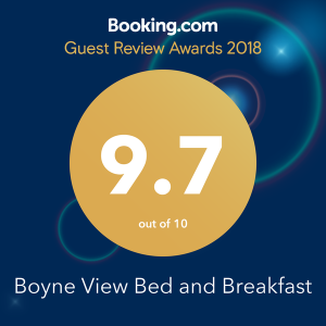 Booking dot com guest review awards 2018 Boyne View Bed and Breakfast